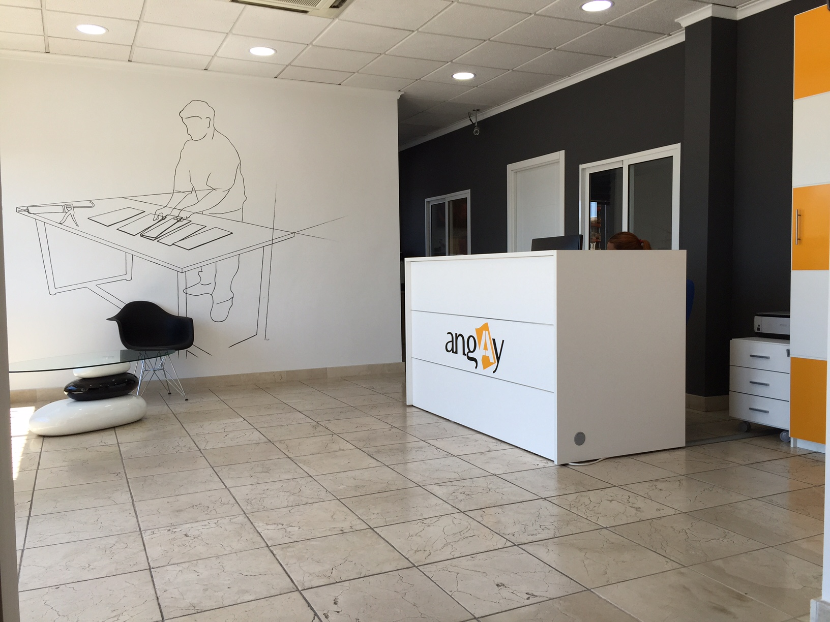 instalaciones interior recepcion